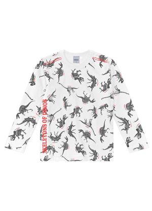 Camiseta-Infantil-Masculina-Rovitex-Kids-Branco