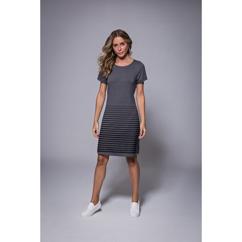 Vestido-Feminino-com-Listras-Endless-Cinza