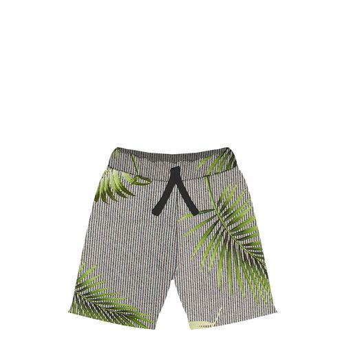 Bermuda-Infantil-Folhagens-Trick-Trick-Preto