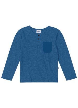 Camiseta-Infantil-Manga-Longa-Trick-Nick-Azul