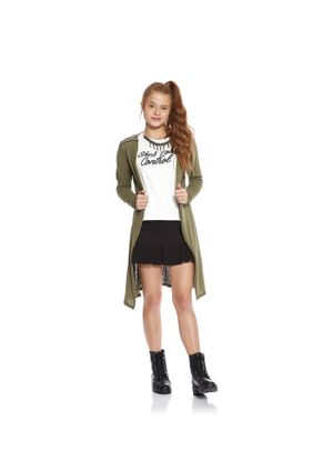Cardigan-Tricot-Feminino-Rovitex-Teen-Verde