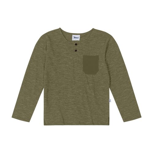 Camiseta-Infantil-Manga-Longa-Trick-Nick-Verde
