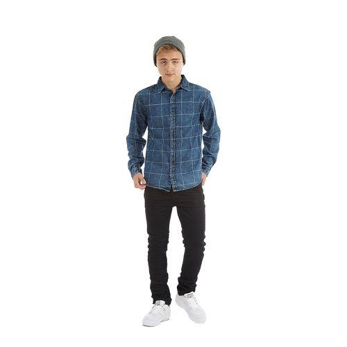 Camisa-Jeans-Masculina-Rovitex-Teen-Cinza