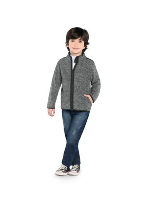 Jaqueta-Infantil-Malha-Soft-Rovitex-Kids-Cinza