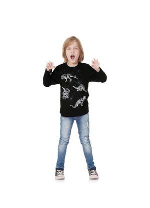 Camiseta-Meia-Malha-Masculina-Rovitex-Kids-Preto