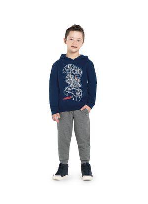Blusao-Infantil-Capuz-Game-Rovitex-Kids-Azul