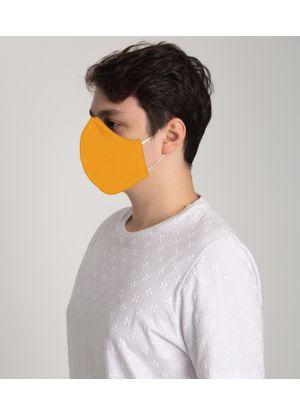 Mascara-de-Tecido-Unissex---Kit-com-12-Unidades-Amarelo