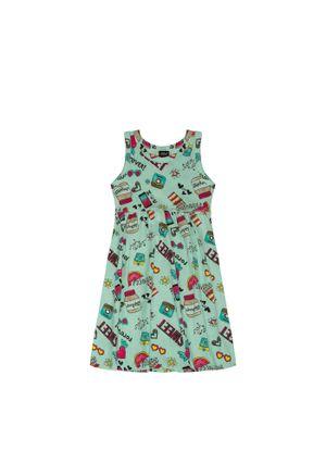 Vestido-Infantil-Select-Verde