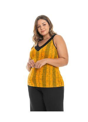 Regata-Estampada-Feminina-Rovitex-Plus-Amarelo