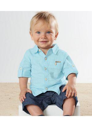 Conjunto-Camisa-com-Bermuda-TrickNick-Masculino-Azul