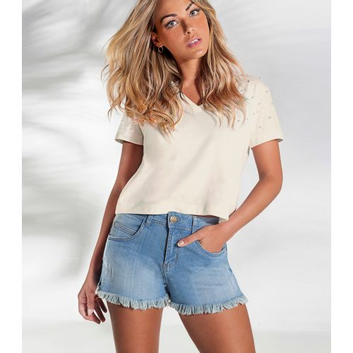 Short-Jeans-Feminino-Endless-Azul