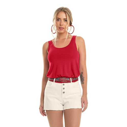 Regata-Viscotorcion-Feminina-Rovitex-Basicos-Vermelho