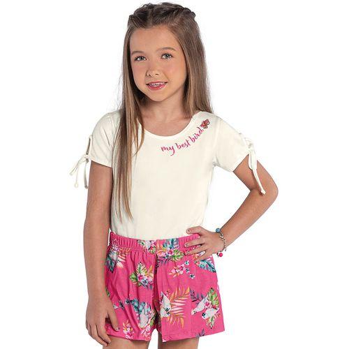 Conjunto-Blusa-Com-Saia--Rovitex-Kids-Feminino-Bege