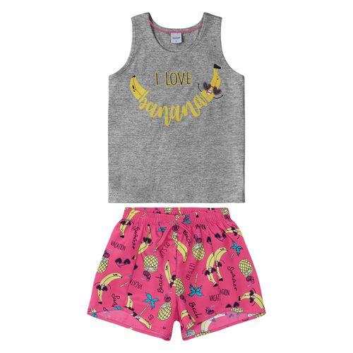 Conjunto-Regata-com-Shorts-Rovitex-Kids-Feminino-Cinza
