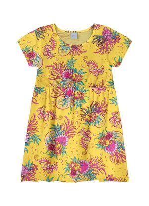 Vestido-Rovitex-Kids-Feminino-Amarelo