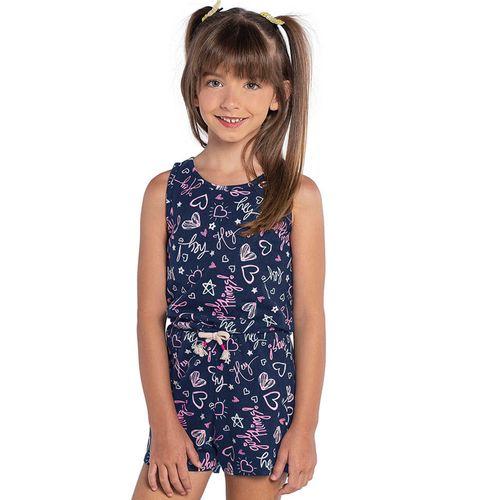 Macaquinho-Rovitex-Kids-Feminino-Azul