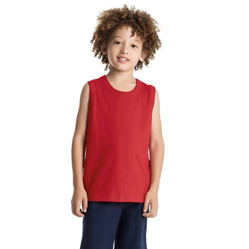 Regata-Infantil-Basica-Meia-Malha-Rovitex-Kids-Vermelho