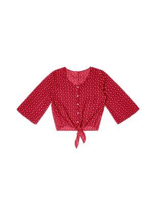Blusa-Crepe-Feminina-Rovitex-Vermelho