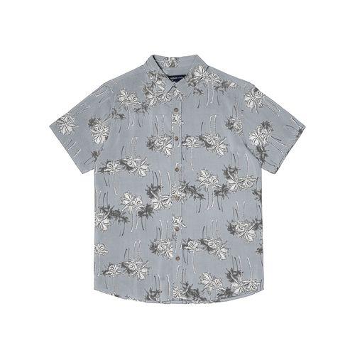 Camisa-Viscose-Estampada-Rovitex-Cinza