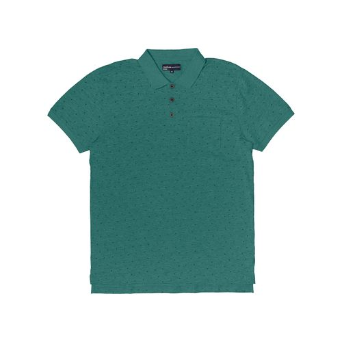 Polo-Meia-Malha-Masculina-Rovitex-Verde
