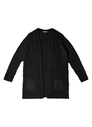 Cardigan-Feminino-Trico-Alongado-Secret-Glam-Preto