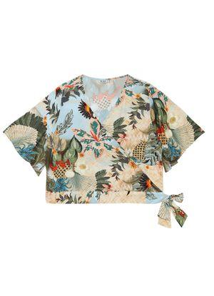 Blusa-Feminina-Estampada-Secret-Glam-Azul