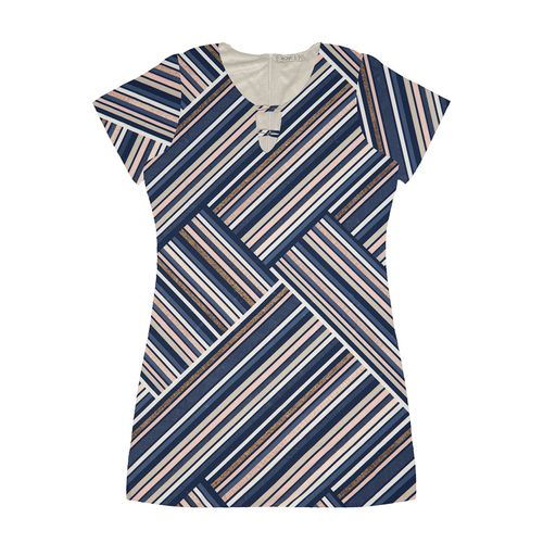 Vestido-Estampado-Feminino-Secret-Glam-Azul