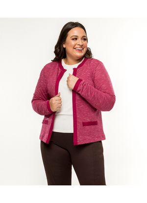 Casaco-Feminino-Tweed-Secret-Glam-Rosa