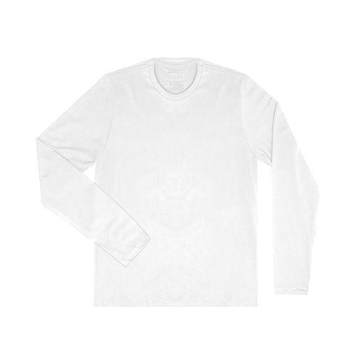 Camiseta-Masculina-Basica-Meia-Malha-Rovitex-Plus-Branco