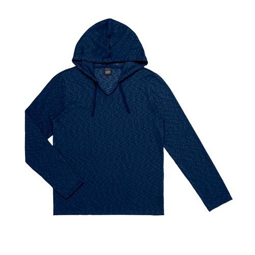 Camiseta-Masculina-Basica-Trico-Capuz-Rovitex-Plus-Azul