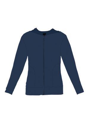 Jaqueta-Feminina-Basica-Plush-Rovitex-Plus-Azul