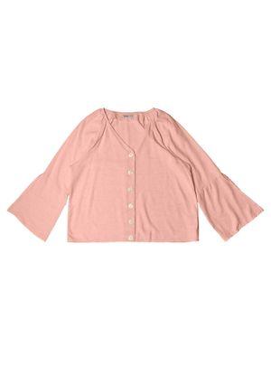 Camisa-Feminina-Viscolinho-Secret-Glam-Rosa