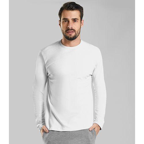Camiseta-Masculina-Manga-Longa-Suedine-Rovitex-Plu-Branco