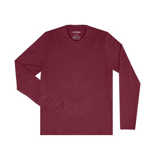 Camiseta-Masculina-Basica-Meia-Malha-Rovitex-Plus-Vermelho