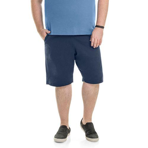 Bermuda-Moletinho-Masculina-Rovitex-Basicos-Plus-Azul