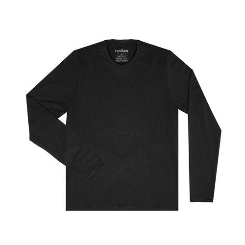 Camiseta-Masculina-Basica-Meia-Malha-Rovitex-Plus-Preto