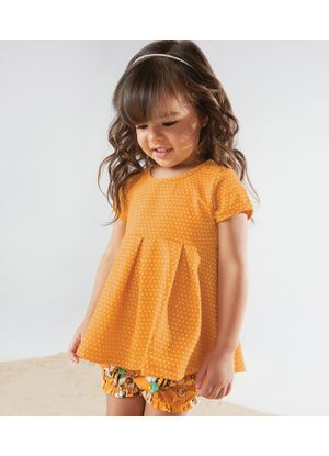 Conjunto-Blusa-com-Shorts-TrickNick-Feminino-Amarelo