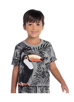Camiseta-Rovitex-Kids-Masculino-Cinza