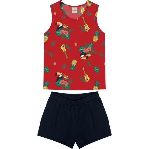 Conjunto-Regata-Com-Shorts-Vermelho