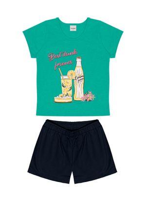 Conjunto-Blusa-Com-Shorts-Verde