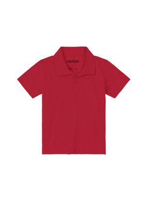 Polo-Rovitex-Basicos-Masculino-Vermelho