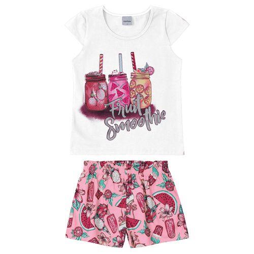 Conjunto-Blusa-Com-Shorts-Rovitex-Kids-Feminino-Branco