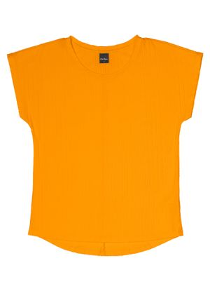 Blusa-Feminina-Basica-Rovitex-Amarelo