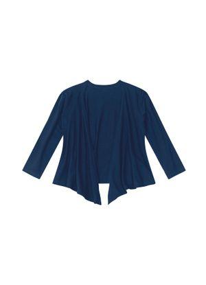 Cardigan-Infantil-Basico-Viscose-Rovitex-Kids-Azul