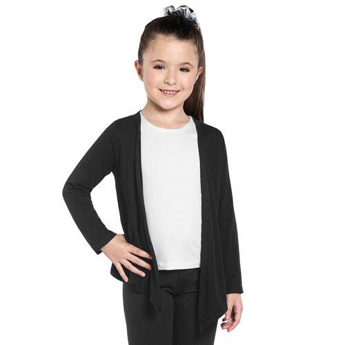 Cardigan-Infantil-Basico-Viscose-Rovitex-Kids-Preto