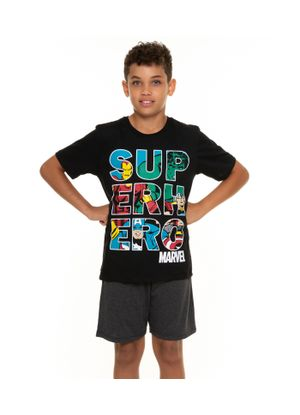Pijama-Juvenil-Masculino-Super-Heroe-Marvel-Preto
