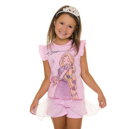 Pijama-Infantil-Feminino-Princesa-Rapunzel-Disney-Rosa