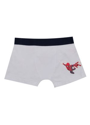 Cueca-Boxer-Infantil-Estampa-Homem-Aranha-Branco