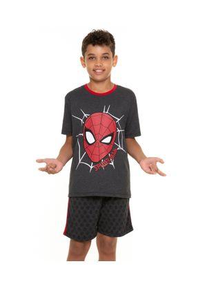 Pijama-Juvenil-Masculino-Homem-Aranha-Cinza