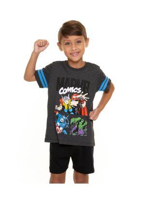 Pijama-Infantil-Masculino-Comics-Marvel-Cinza